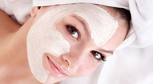 Spa Skin Care - clay facial mask for clear skin in Surrey, BC.