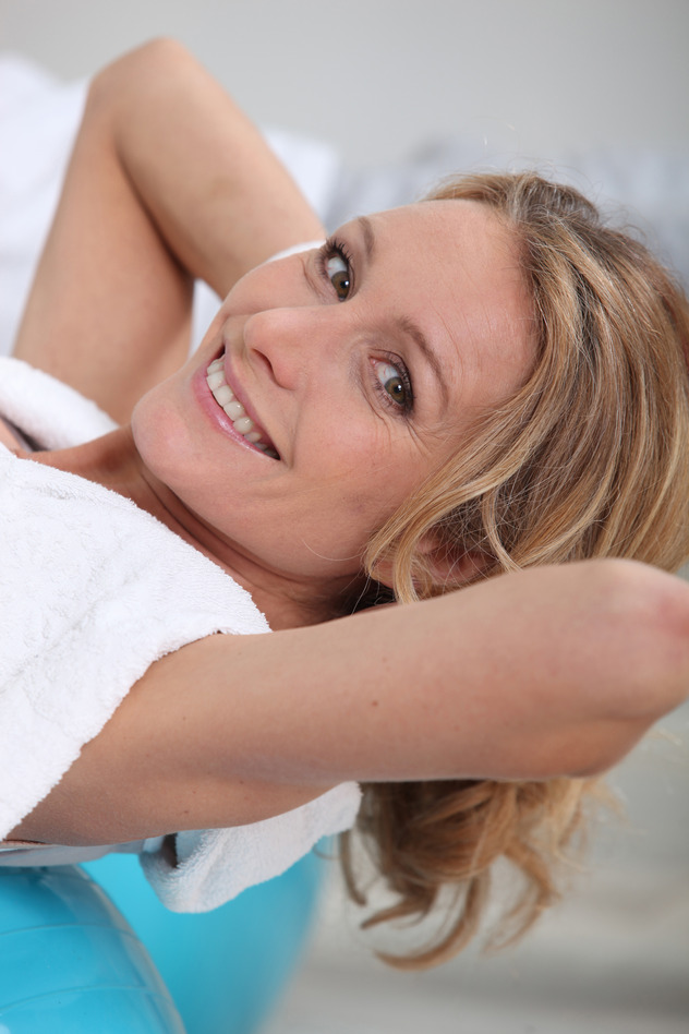 Mature Woman In A Surrey Spa